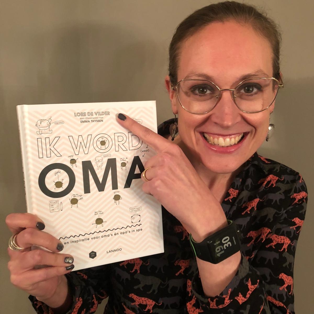 MAMoiselle proudly presents: Het boek 'Ik word (weer) oma'